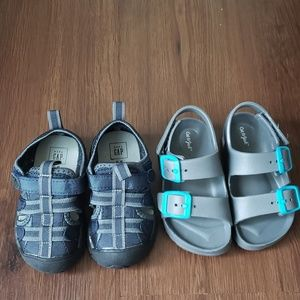 Lot of Toddler Boy Sandals Gap and Cat &Jack